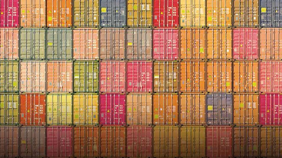container | colourful | maritime | freight | cargo
